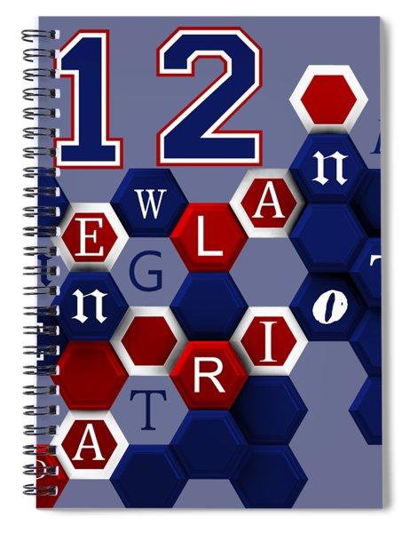 Patriot Number 12 Spiral Notebook