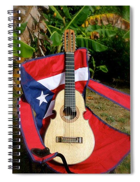 Patriotic Cuatro Spiral Notebook