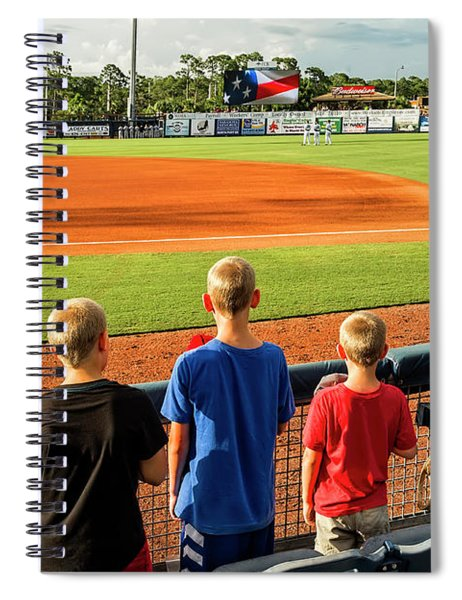 Patriotism Is Taught Spiral Notebook
