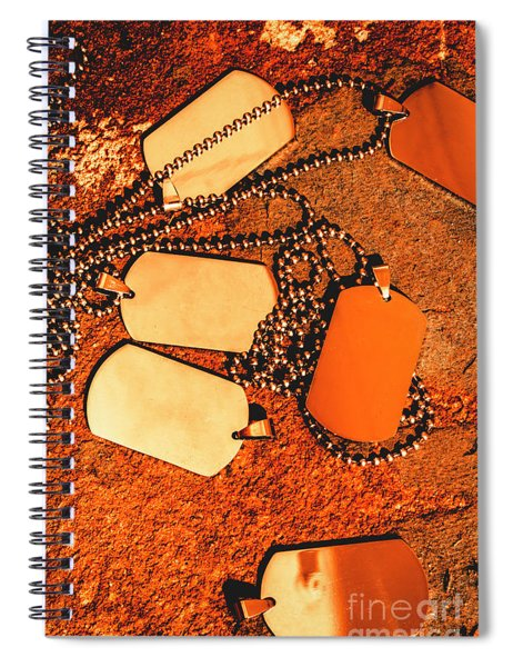 Patriots United Spiral Notebook
