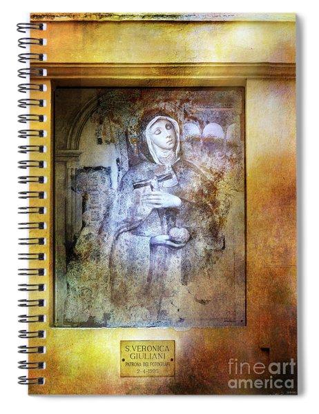Patrona Del Fotografi Spiral Notebook