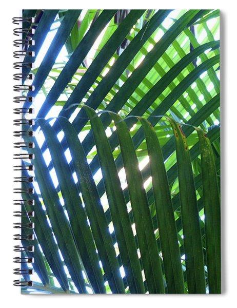 Patterned Palms Spiral Notebook