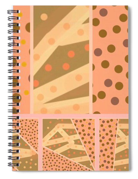 Patterns Of Finding Solace 100 Spiral Notebook