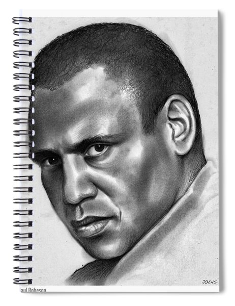 Paul Robeson Spiral Notebook