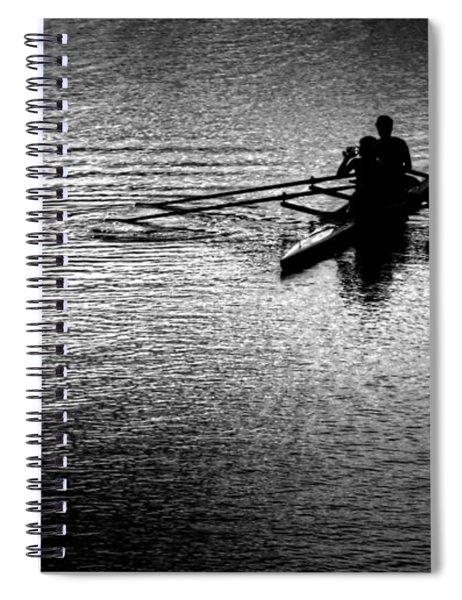 Pause Spiral Notebook