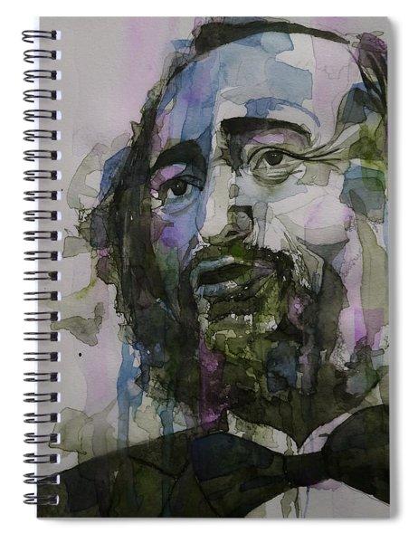 Pavarotti Spiral Notebook