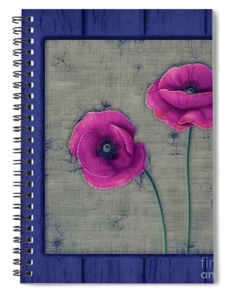 Pavot - A01c11 Spiral Notebook