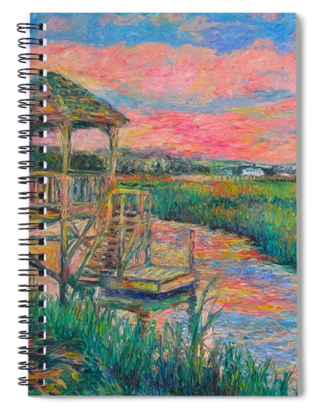 Pawleys Island Atmosphere Stage Two Spiral Notebook