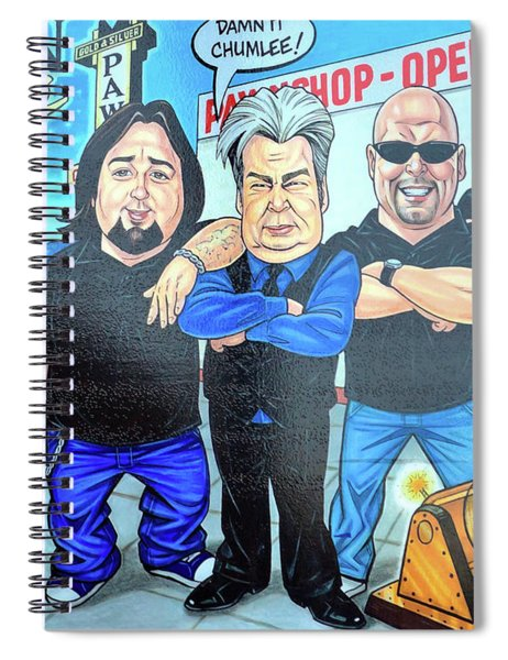 Pawn Stars In Las Vegas Spiral Notebook