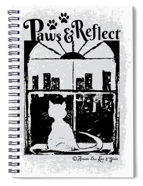 Paws And Reflect Spiral Notebook