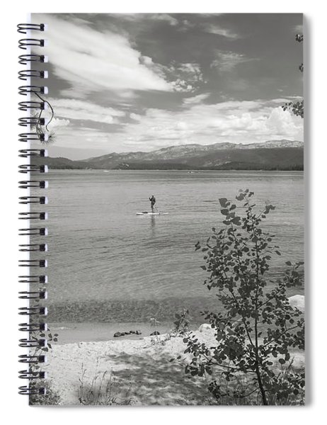 Payette Lake Boarder Spiral Notebook