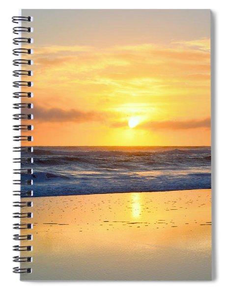 Pea Island In November Spiral Notebook