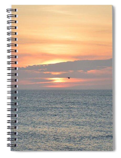 Pea Island Sunrise Spiral Notebook