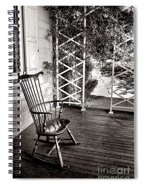 Peace And Quiet Spiral Notebook