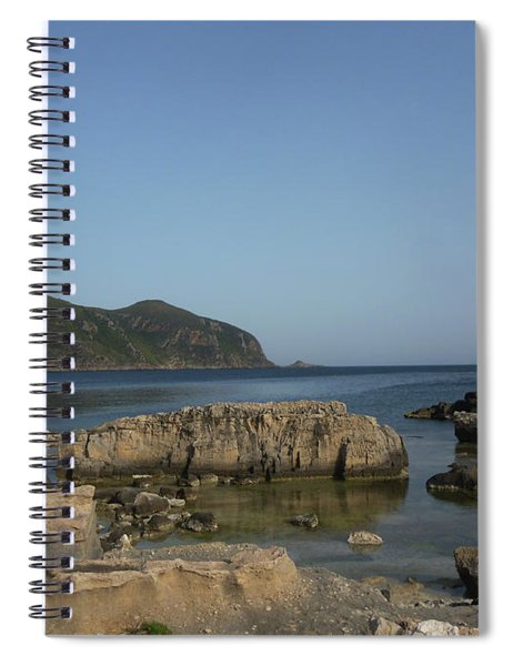 Peace And Rocks Spiral Notebook