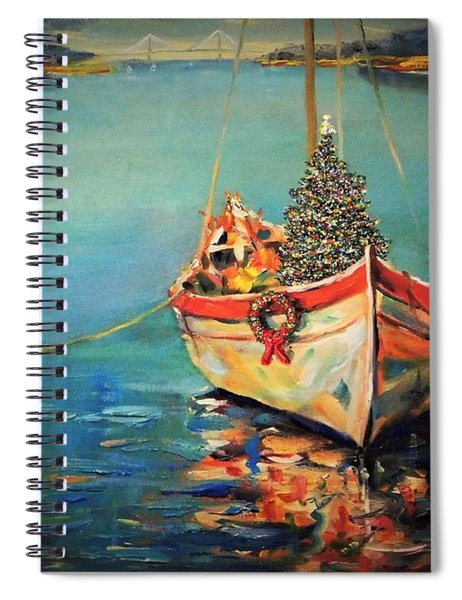 Peace At Christmas Spiral Notebook