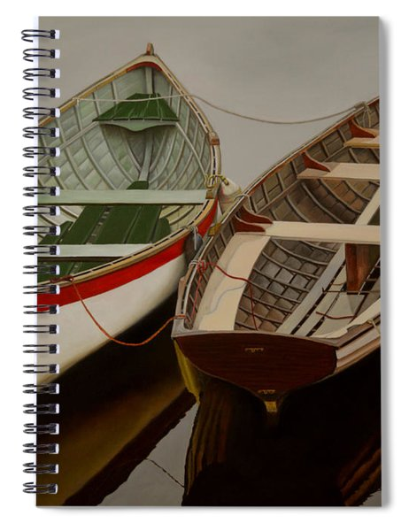Peace At Last Spiral Notebook