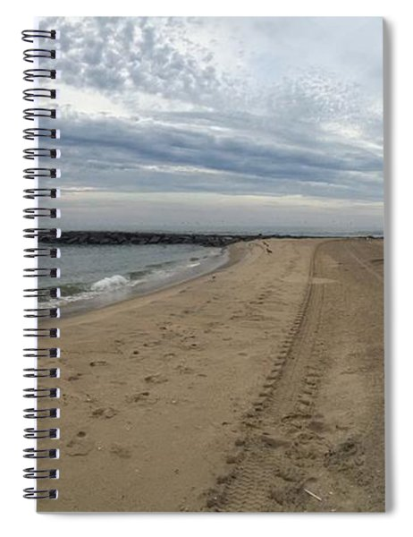 Peace At The Inlet Spiral Notebook