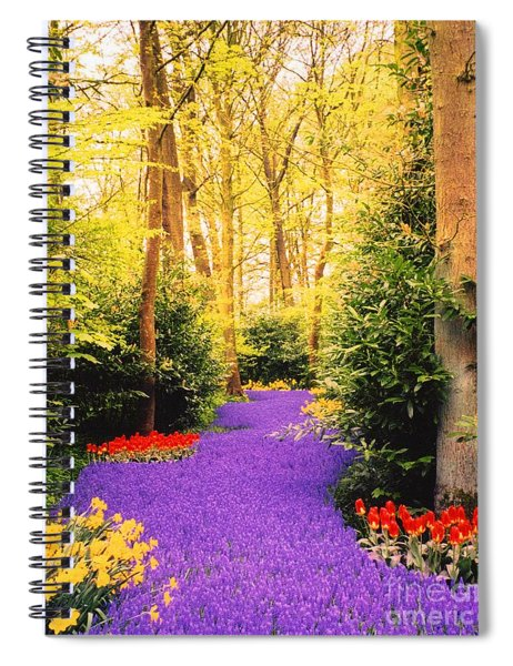 Peace, Like A River Spiral Notebook