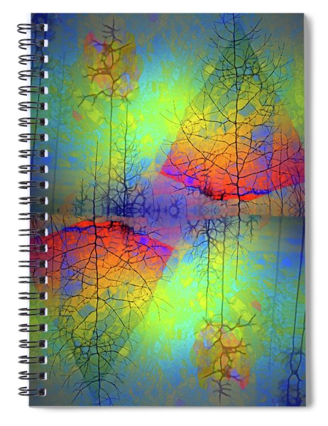 Peace, Love And Happiness Spiral Notebook