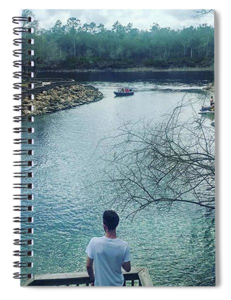 Looking Into The Future Spiral Notebook
