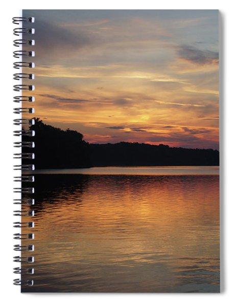 Peaceful Deer Creek Sunrise Spiral Notebook