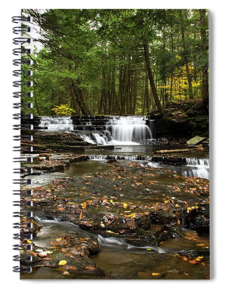 Peaceful Flowing Falls Spiral Notebook