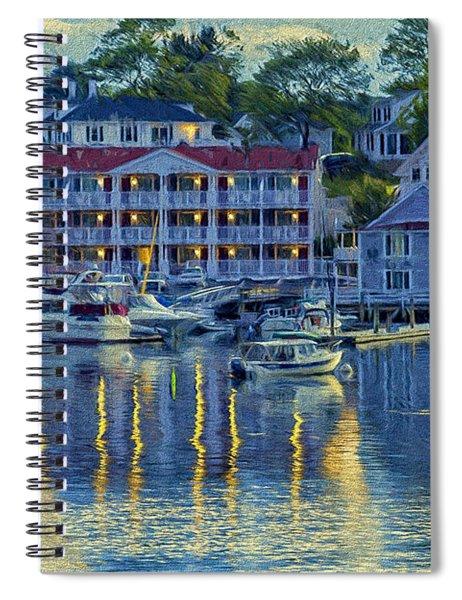 Peaceful Harbor Spiral Notebook