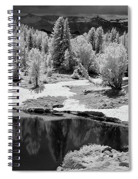 Peaceful Ir Spiral Notebook