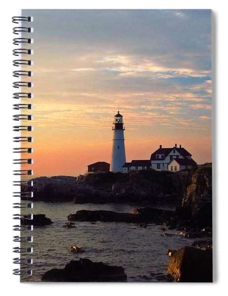 Peaceful Mornings Spiral Notebook