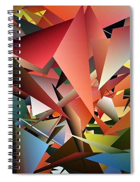 Peaceful Pieces Spiral Notebook