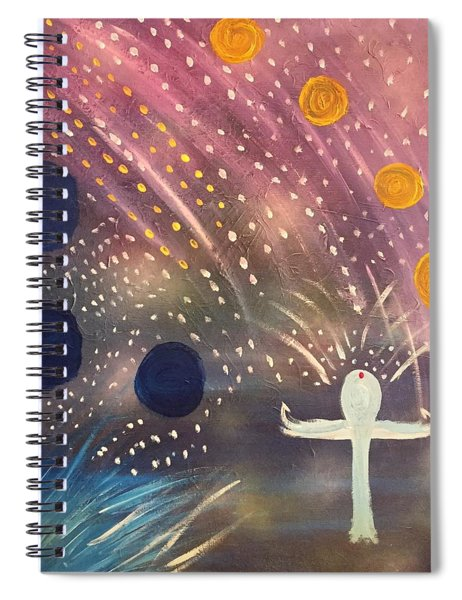 Peaceful  Spiral Notebook