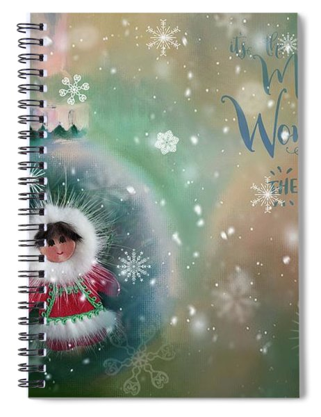 Peace,love,joy Spiral Notebook