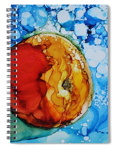 Peach Spiral Notebook