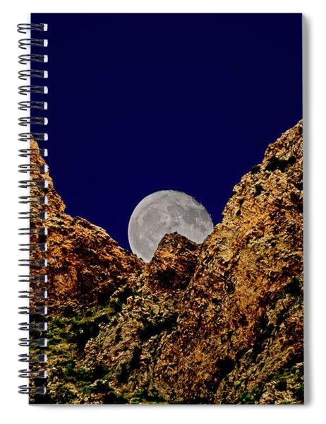 Peak Full Moon H03 Spiral Notebook