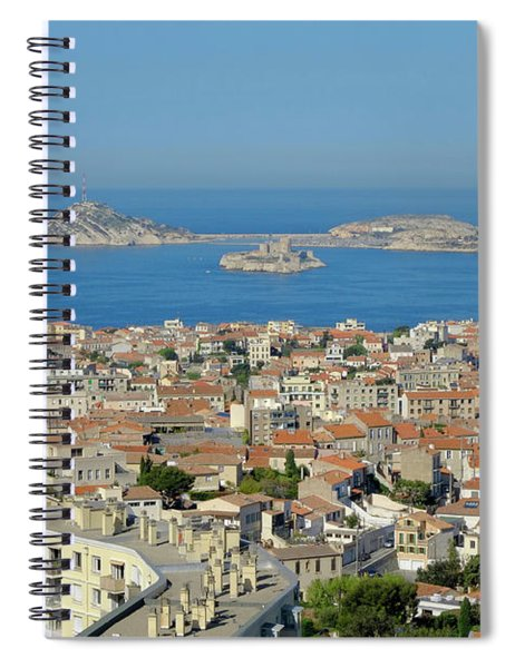 Peak View Marseille Spiral Notebook