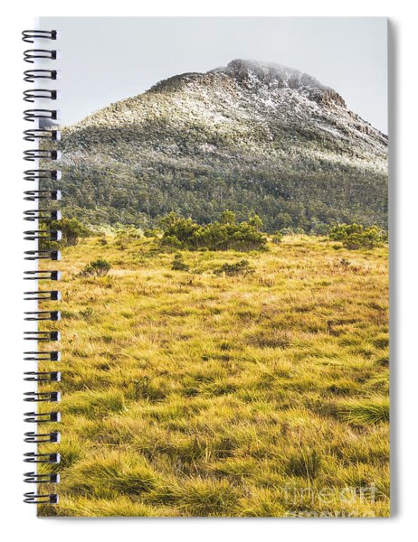 Peaks And Plateaus Spiral Notebook