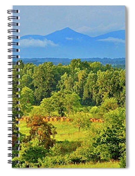 Peaks Of Otter Rainstorm Spiral Notebook