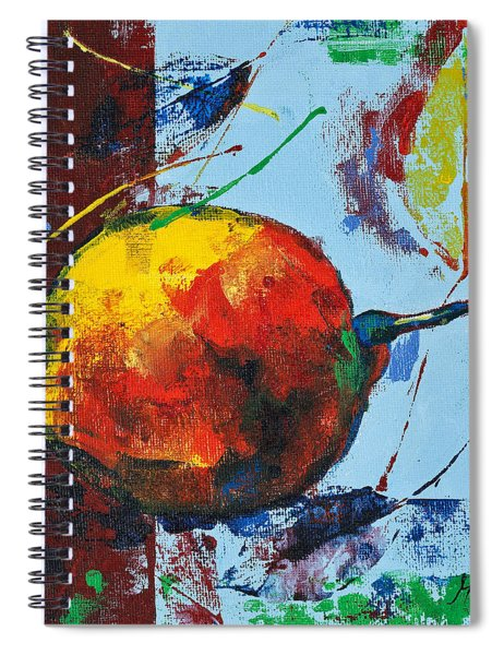 Pear And Sun Spiral Notebook