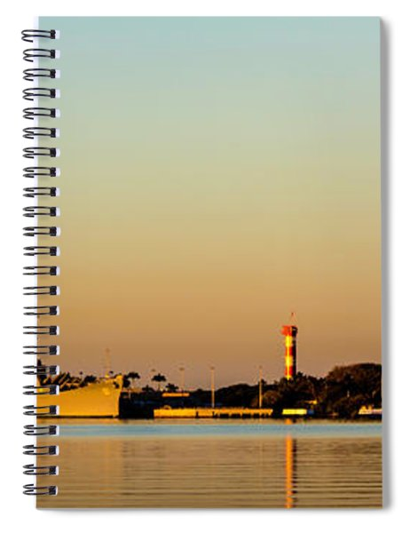 Pearl Harbor Dawn Spiral Notebook