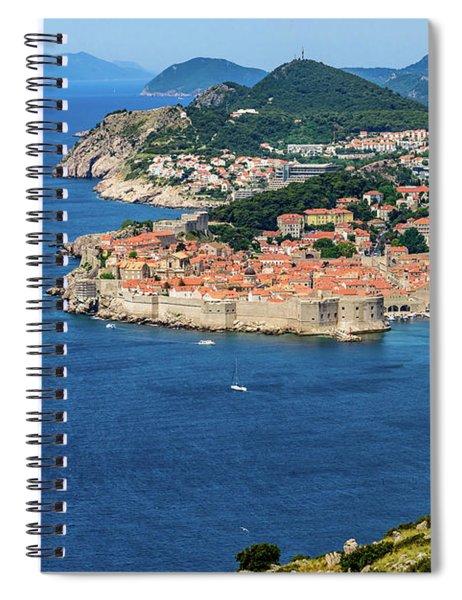 Pearl Of The Adriatic, Dubrovnik, Known As Kings Landing In Game Of Thrones, Dubrovnik, Croatia Spiral Notebook