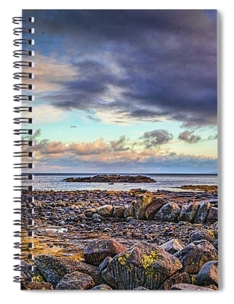 Pebbles And Sky  #h4 Spiral Notebook