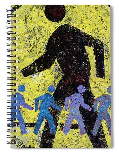 Pedestrian Crossing Spiral Notebook