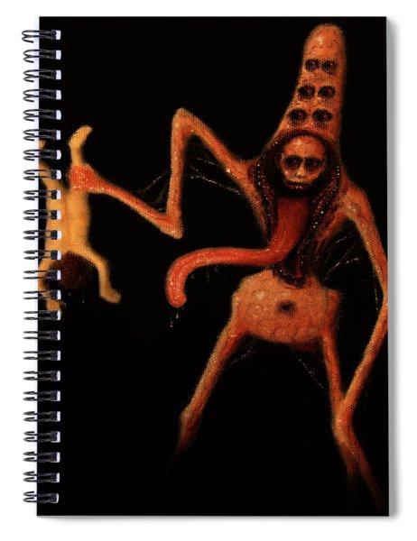Violator Of Innocence - Artwork Spiral Notebook
