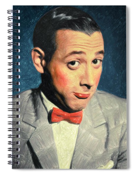 Pee-wee Herman Spiral Notebook