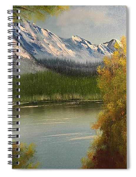 Peek-a-boo Mountain Spiral Notebook