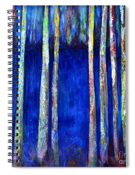 Peeking Through The Trees Spiral Notebook