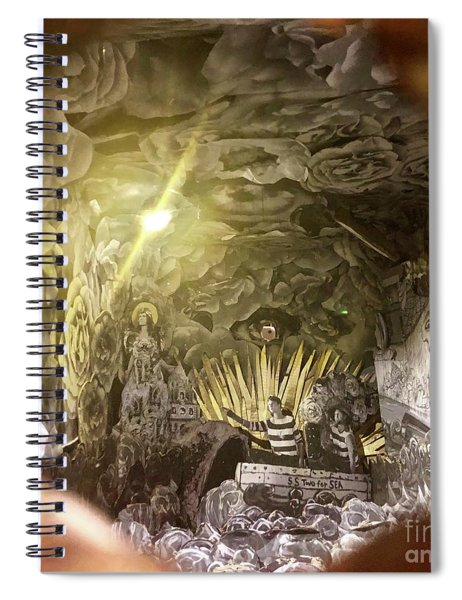 Peephole Spiral Notebook
