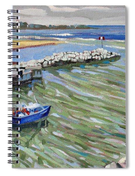 Peerlessly Outbound Spiral Notebook