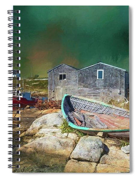Peggy's Cove Spiral Notebook